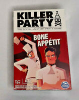 Killer Party - Bone Appétit, the Social Mystery Party Game - Brand New Sealed