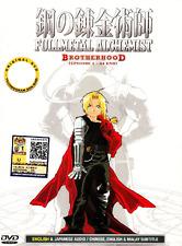 DVD ANIME Fullmetal Alchemist Brotherhood Vol.1-64 End ENGLISH DUBBED +FREE DVD