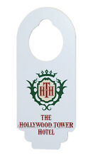 NEW Disney Parks Hollywood Tower Hotel Tower of Terror Do No Disturb Door Hanger