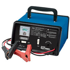 DRAPER 210W 8.4A AMP 12V 6V CAR VAN LORRY BATTERY CHARGER BOOSTER 85AH