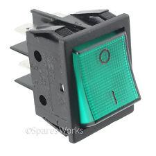 Lincat autentico su OFF Verde INTERRUTTORE Rocker GRILL Display Frigo STEAMER pulsante