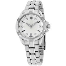 Wenger GST Mother of Pearl Dial Stainless Steel Ladies Watch 79112