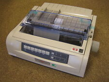OKI Microline 5520 B/W 9 Pin Dot Matrix Impact Printer USB Network BRAND NEW NEU