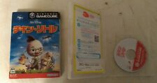 Disney's Chicken Little (Nintendo GameCube 2005) With Box and Case Japan Import