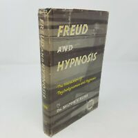 Freud and Hypnosis by Milton Kline, 1st First Edition, Dust Jacket HC