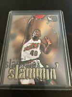 1996-97 Metal Steel Slammin' #7 Shawn Kemp Rare Insert