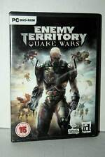 ENEMY TERRITORY QUAKE WARS GIOCO USATO OTTIMO STATO PC DVD VER INGLESE SC2 40286