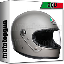 AGV 200011A4I0-004 HELMET FULL FACE X3000 X-3000 SOLID MATT LIGHT GREY ML