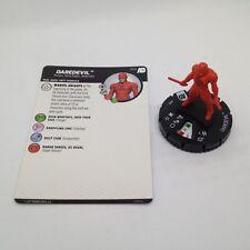 Heroclix Avengers Defenders War set Daredevil #002 Common figure w/card!