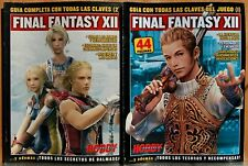 Final Fantasy XII Guide Full with the Keys of the Set 1 Y 2 - Hobby Consoles