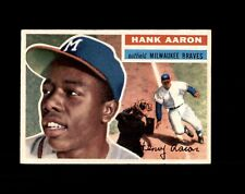 New listing 1956 TOPPS #31 HANK AARON BRAVES NM-MT+ to MINT