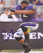 "Ray Lewis NFL Baltimore Ravens 8""x 10"" Great Signed Color PHOTO REPRINT"