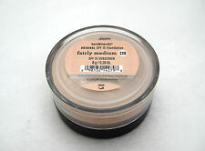 BARE ESCENTUALS bare Minerals Foundation * FAIRLY MEDIUM C20 * 8g Click Lock NEW