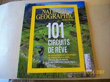 national geographie 2HS . 101 circuits de reve ...