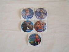 5-Disney Frozen Movie  Stickers Party Favors