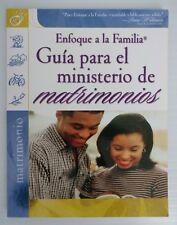 Guia Para Ministerio Del Matrimon (Focus on the Family: Marriage) Paperback