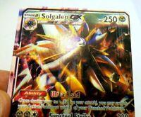 2016 Pokemon Card Solgaleo GX HP 250 Sol Burst GX