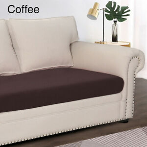 1/2/3/4/ Seater Stretch Slipcovers Home Sofa Seat Protector Solid Cushion Covers