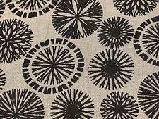 Fabric Wheels & Cogs Black on Grey Cotton 11 Yards