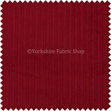 Luxury Soft Plain Corduroy Cord Red Upholstery Material Fabric Cushions Curtains
