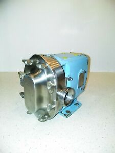 1 inch Waukesha stainless steel positive displacement pump model 015