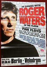 Roger   Waters   ( Pink  Floyd  )   Tourplakat   9.6.2002   Berlin