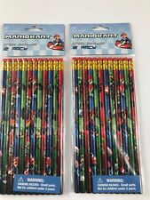 mario kart school pencils- 24 pencils by innovative designs