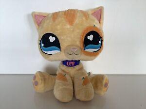 Littlest Petshop Hasbro 2007 Kitty Plush Toy