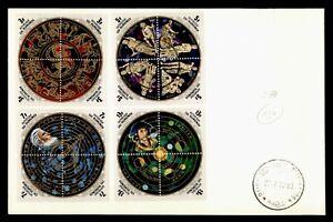 DR WHO 1973 BURUNDI FDC SPACE BLOCK COMBO COPERNICUS  f94583