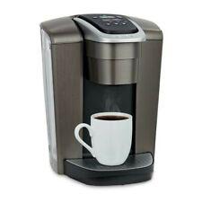 Keurig K-Elite - Brushed Slate - Single Serve K-Cup Pod Coffee Maker - New