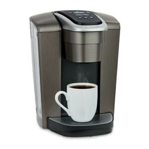 Keurig K-Elite - Brushed Slate - Single Serve K-Cup Pod Coffee Maker - New☕