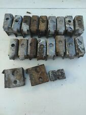 More details for pottenger mower conditioner tine brackets and rubber blocks