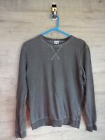 vtg 90s 80s grey clare bruce Graphic sweatshirt sweater jumper refA9 medium