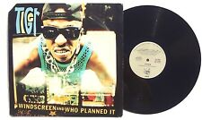 """TIGER: Windscree / Who Planned It LP CHAOS RECORDS 4274944 US 1993 12"""" NM+"""