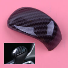 1×For Honda Accord 2018 Carbon Fiber Gear Shift Knob Head Decoration Cover Trim
