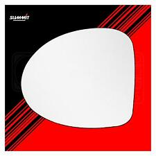 Heated Back Plate Replacement Mirror Glass - Summit SRG-1001BH - Fits Renault