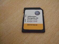 VW V7 SAT NAV SD CARD FOR AS SYSTEM ONLY