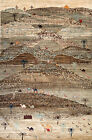 Hand-knotted Rug (Carpet) 5'8X8'8, Gabeh mint condition
