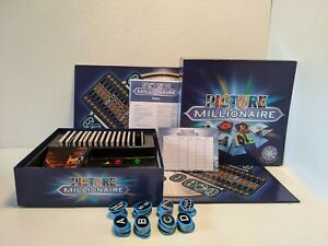 Picture Millionaire  2004 Who Wants To Be A Millionaire Board Game VGC Complete