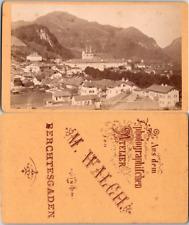 Allemagne, Deutschland, Bayern, Berchtesgaden Vintage CDV albumen carte de visit