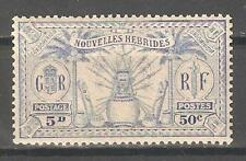 French New Hebrides 1925,50c ,Sc 50,MNH** (P-5)