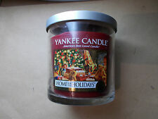 Yankee Candle Usa (Deerfield) Rare Home For The Holidays 7oz Small Tumbler