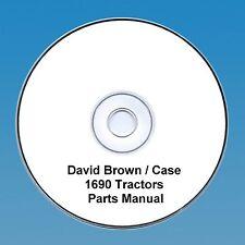 David Brown / Case 1690 Tractors  Parts Manual PDF CD