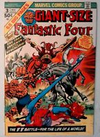 Giant Size Fantastic Four #3 Marvel 1974 FN/VF Bronze Age Comic Book 1st Print