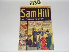 Sam Hill Private Eye #2 1950 Close-Up Publishing