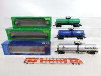 CE743-0,5# 3x Mehano H0/DC US-Kesselwagen: Santa Fe + Dow + Celanese, s.g.+OVP