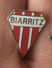 BIARRITZ FRENCH RUGBY UNION CREST ENAMEL PIN BADGE