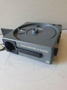 Kodak Carousel S-AV 2020 Projektor ungeprüft Diaprojektor