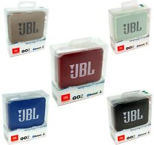 JBL GO2 Portable Bluetooth Wireless Speaker Go 2 Red Blue Black Gold NEW