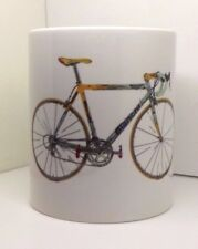 Bianchi Mega Pro XL Marco Pantani bike cycling Mug tour campagnolo record